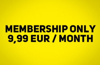 SAVE MONEY BUT NOT ENERGY! Membership for ONLY 9.99 EUR/month.