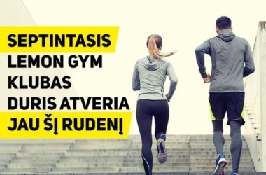 LEMON GYM PLEČIASI!